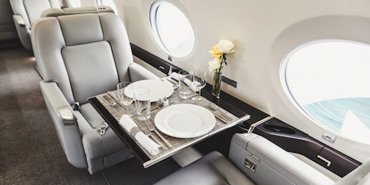 catering private-jet