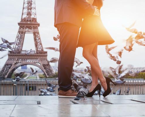 Mit dem Privatjet nach Paris